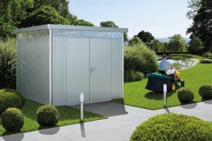 Kända BIOHORT Trädgårdsbodar, underhållsfria förvaringslådor och ZN-86